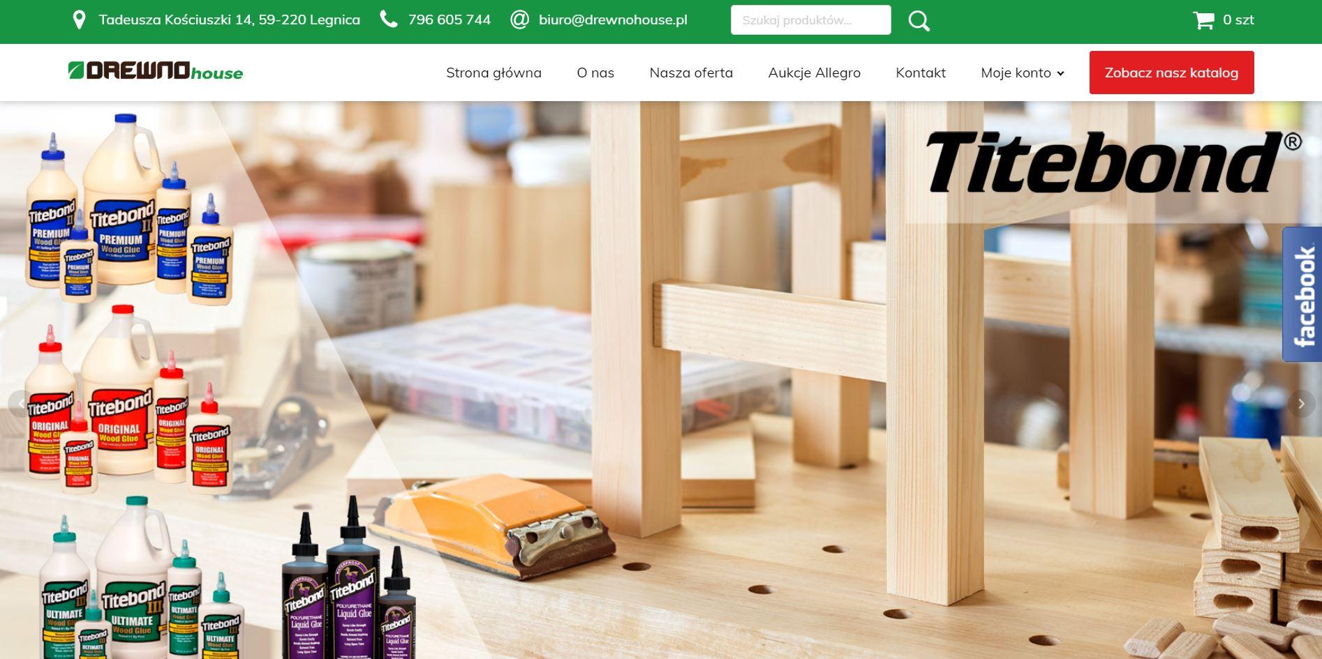 Drewnohouse - sklep internetowy