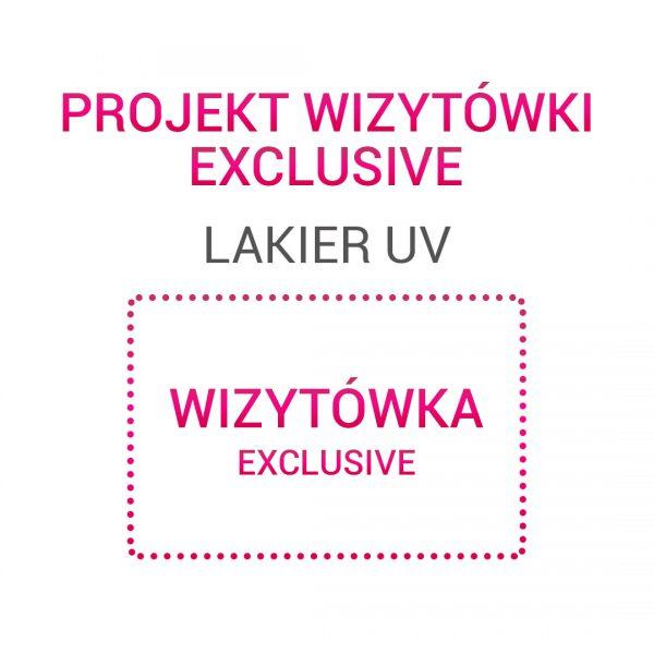 Wizytówka EXCLUSIVE Lakier UV