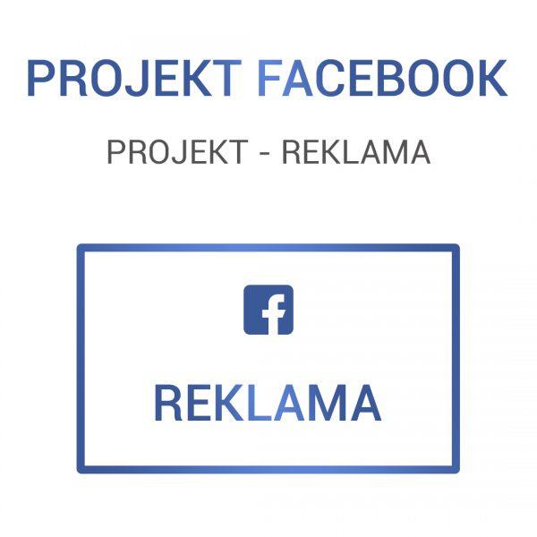 FACEBOOK - projekt reklama