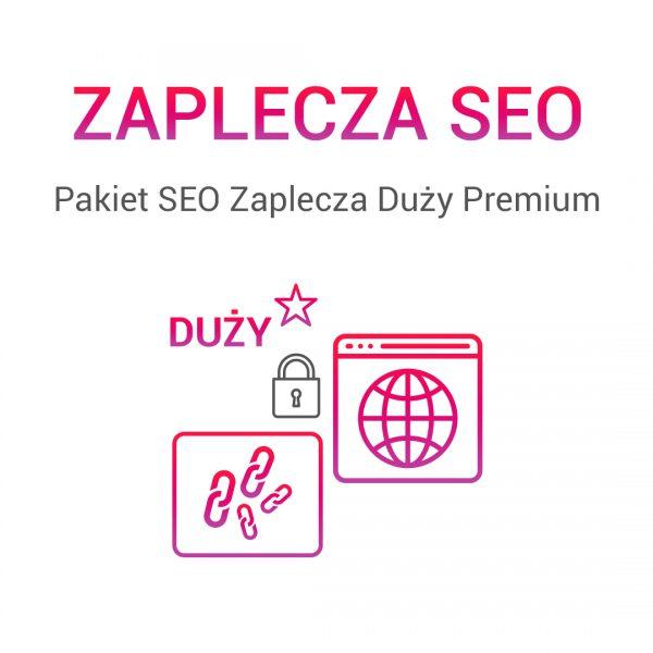 Pakiet SEO Zaplecza Duży Premium