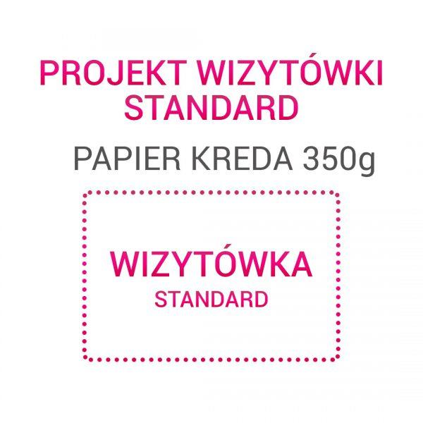Wizytówka STANDARD papier kreda