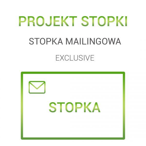 Stopka mailingowa exclusive