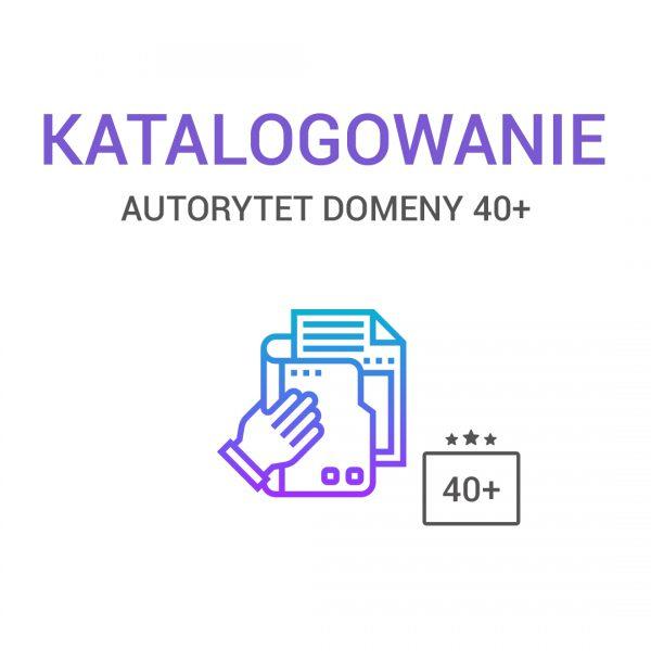 katalogowanie - AUTORYTET DOMENY 40+