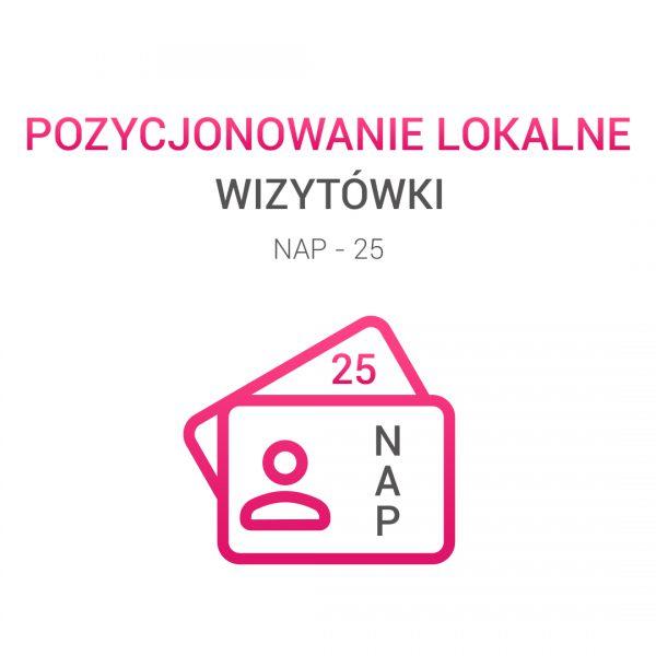 wizytówki NAP 25