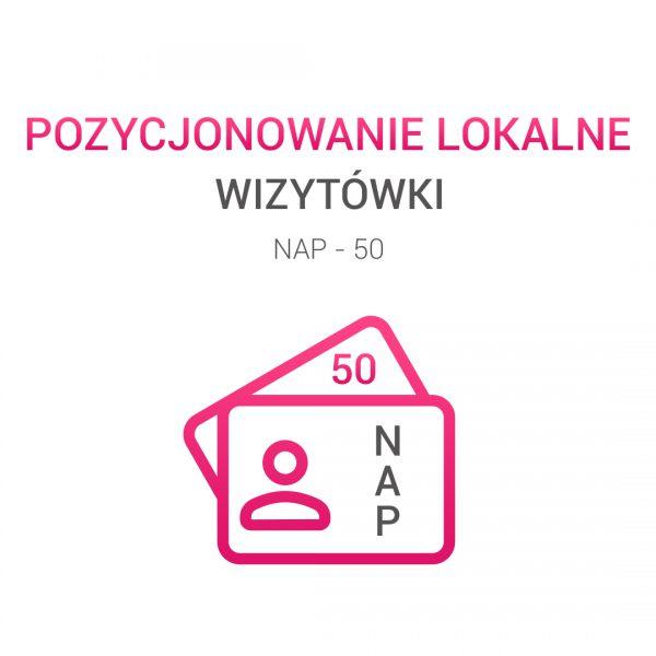 wizytówki NAP 50