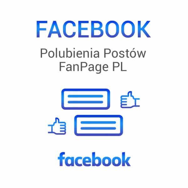 Facebook - polubienie postów FunPage