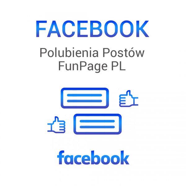 Facebook -polubienia postów funpage pl
