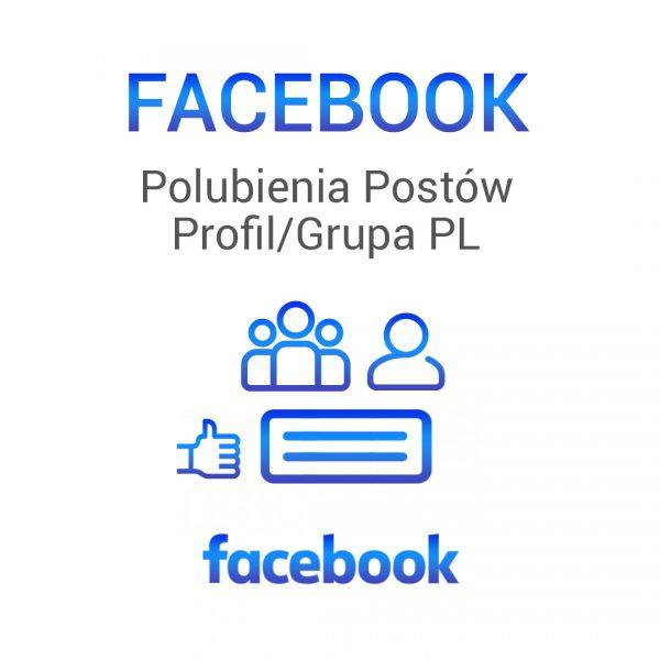Facebook -polubienia postów profil grupa pl