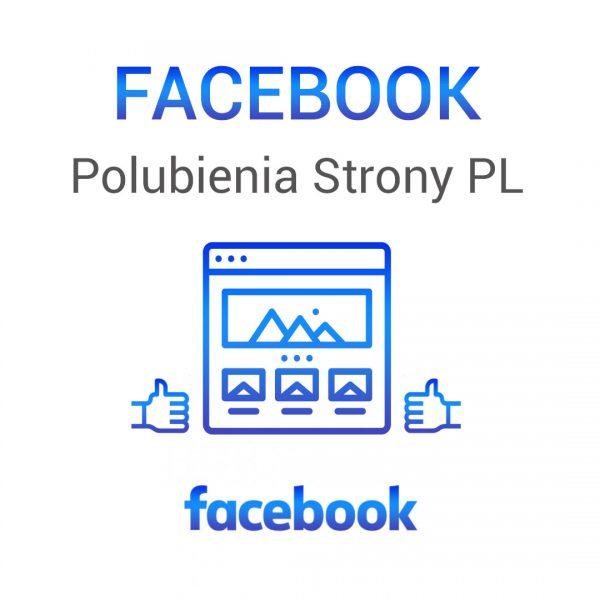 Facebook - polubienia strony PL