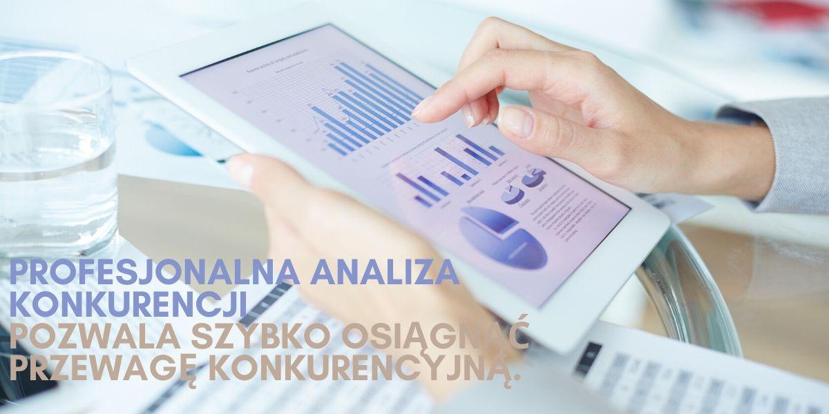 Analiza konkurencji wykresy i statystyki