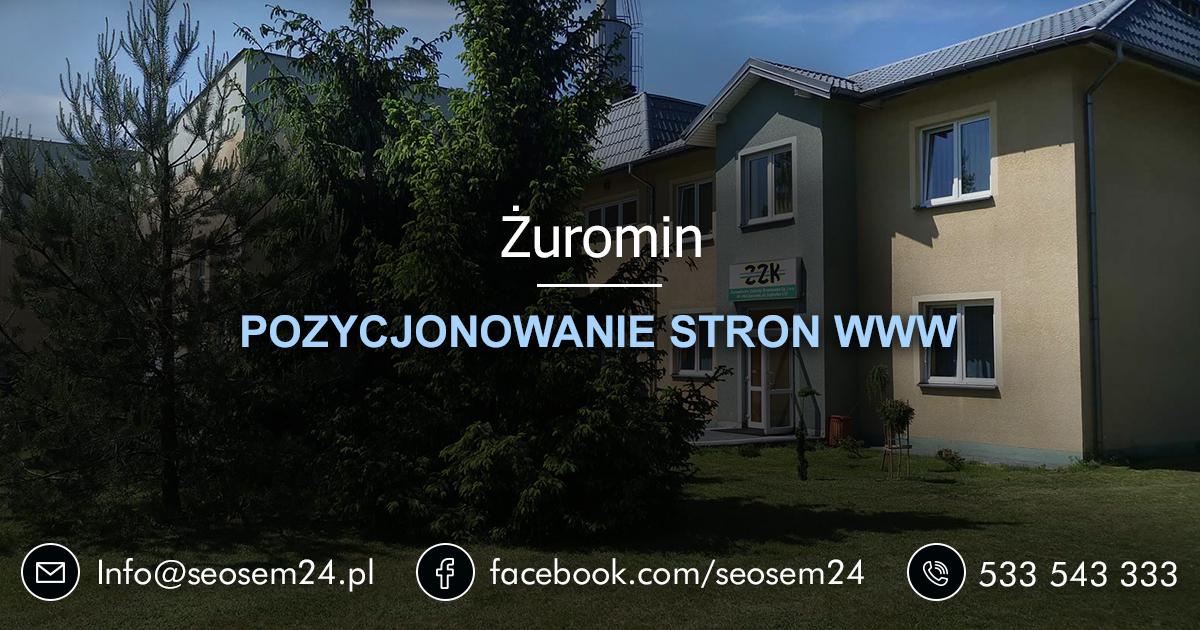 Pozycjonowanie stron www Żuromin - Pozycjonowanie w Żurominie