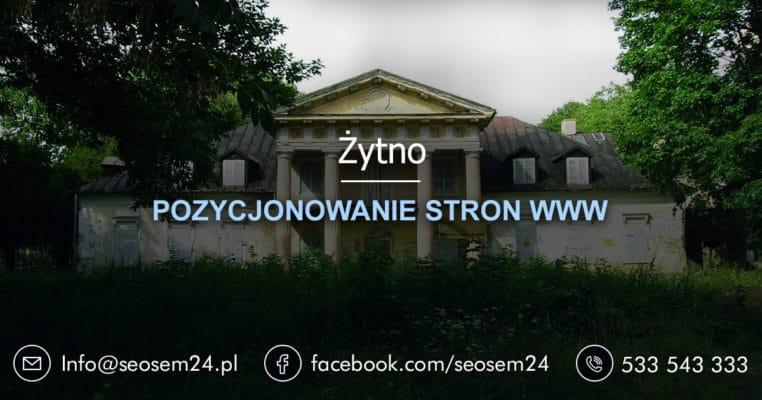 Pozycjonowanie stron www Żytno - pozycjonowanie w Żytnie