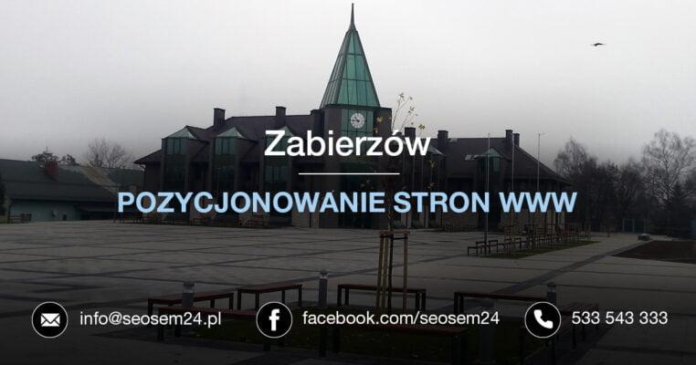 Pozycjonowanie stron www Zabierzów