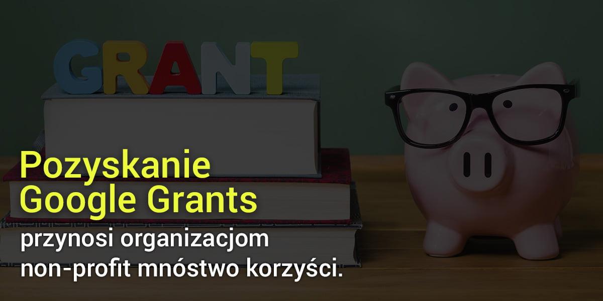 Wsparcie Google Grants dla organizacji non-profit