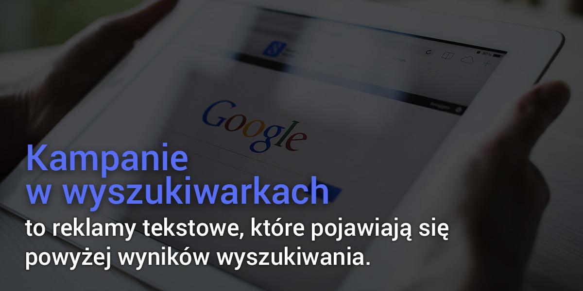 Kampanie w wyszukiwarkach