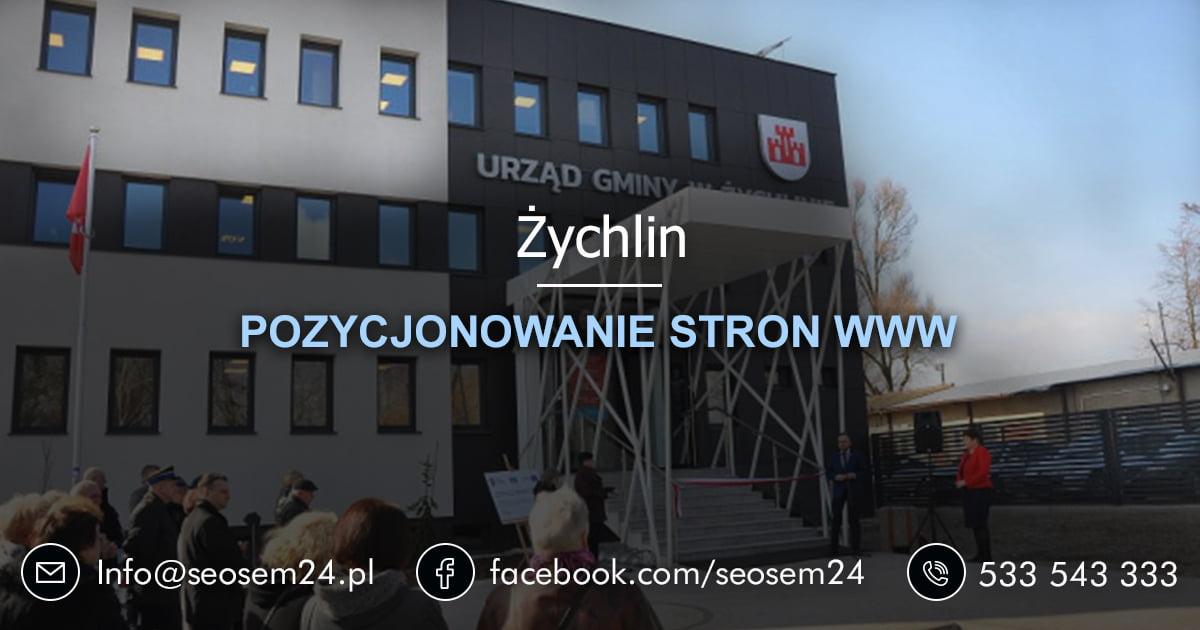 Pozycjonowanie stron www Żychlin