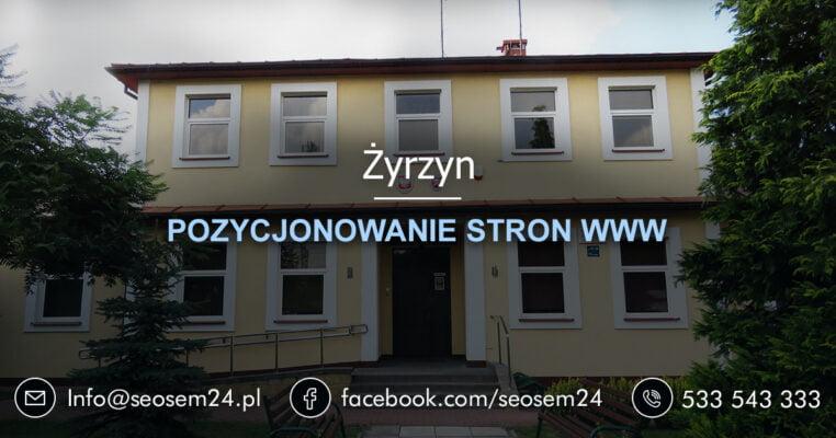 Pozycjonowanie stron www Żyrzyn