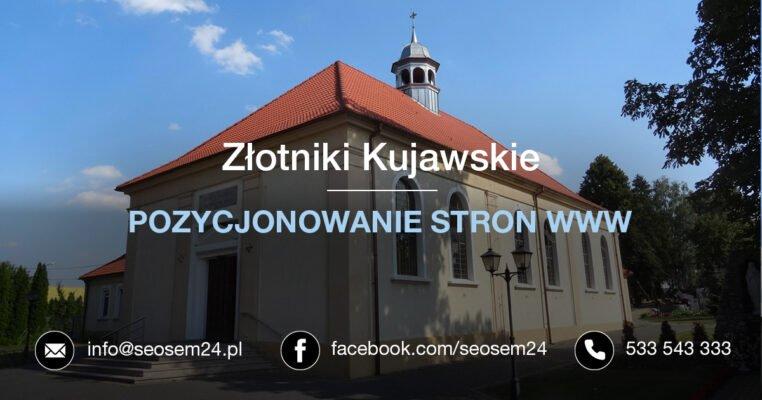 Pozycjonowanie stron www Złotniki Kujawskie