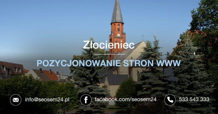 Pozycjonowanie stron www Złocień