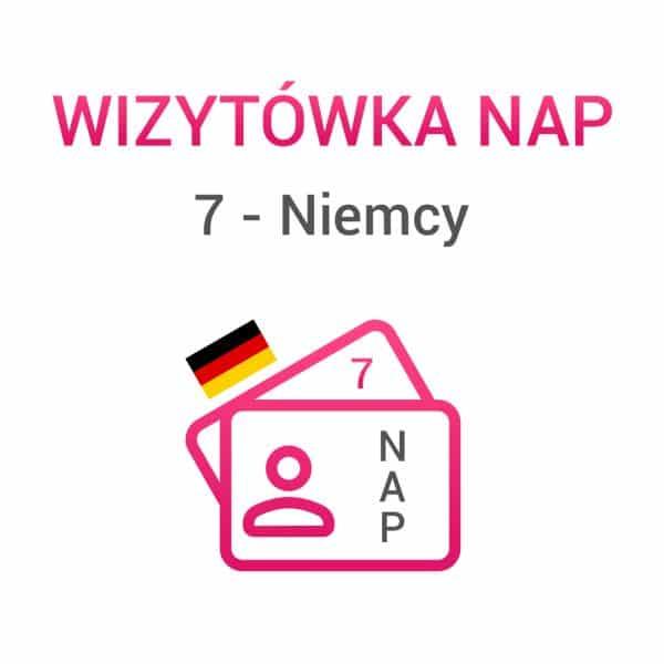 wizytówki NAP 7 Niemcy