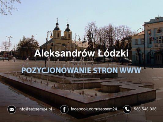 Pozycjonowanie Aleksandrów Łódzki