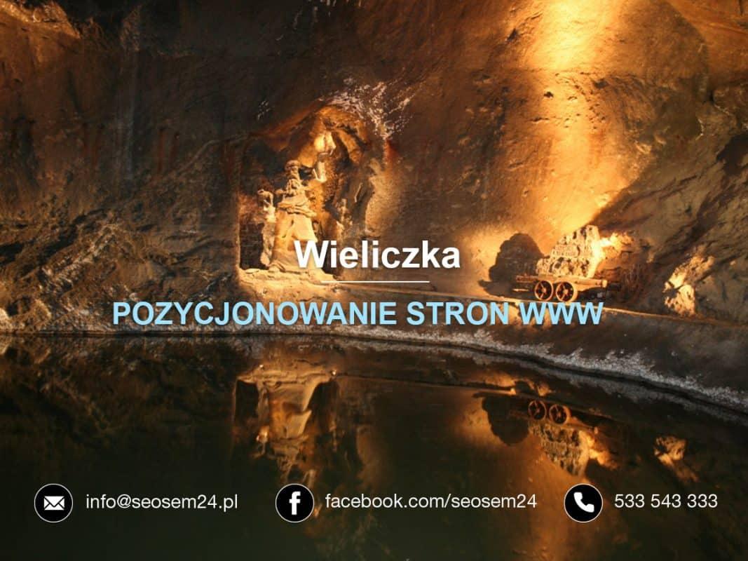 Pozycjonowanie stron www Wieliczka