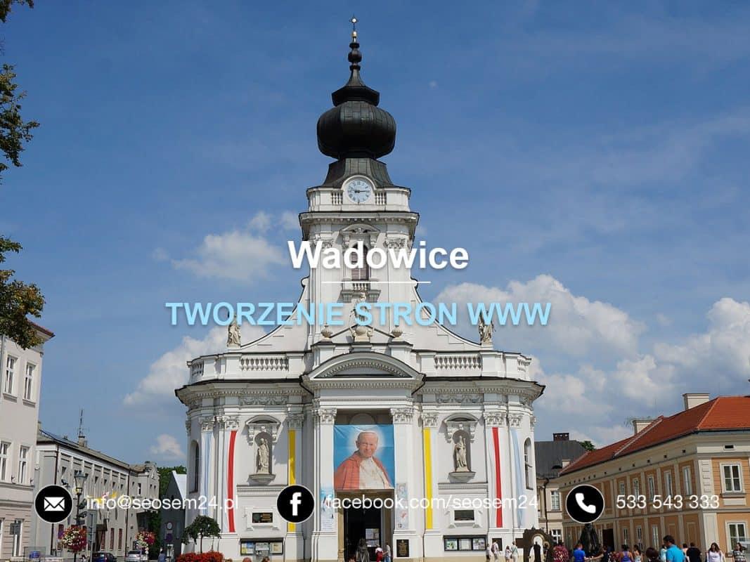 Pozycjonowanie stron www Wadowice